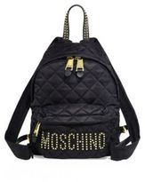 Moschino Studded Quilted Backpack