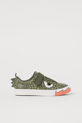 H&M Sneakers with Applique - Green