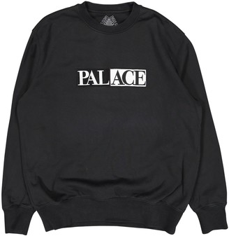 Palace Anthracite Cotton Knitwear