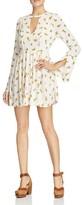 Free People Tegan Printed Mini Dress