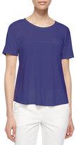 Armani Collezioni Short-Sleeve A-Line T-Shirt