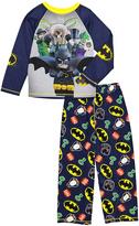 Yellow & Blue Lego Batman Pajama Set - Boys