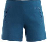 Chloé Santorini crepe-wool shorts