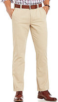 Roundtree & Yorke Flat Front Casual Tech Pocket Chino Pants