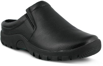 Spring Step Professional Men's Leather Clogs -Blaine