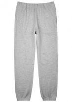 Sunspel Grey Melange Jersey Jogging Trousers