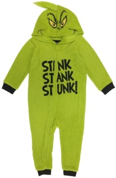 Matching Baby The Grinch Hooded Pajamas, Online Only