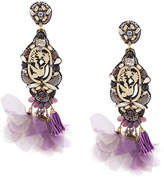 Ranjana Khan embellished bird earrings