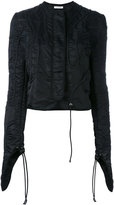 J.W.Anderson fitted jacket - women - Polyamide - 8
