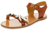 Marc Jacobs Rivington Embellished Leather Sandal
