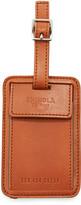 Shinola Men's Leather Luggage ID Tag