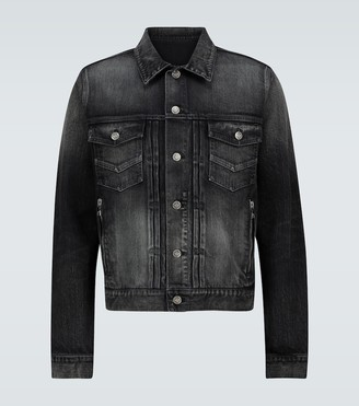 Balmain Washed denim jacket