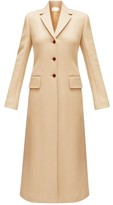 The Row Sua Single-breasted Wool-blend Coat - Womens - Camel