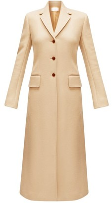 The Row Sua Single-breasted Wool-blend Coat - Camel