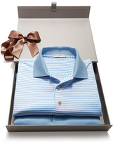 Peter Millar Striped & Solid Polo Box Set, Light Blue