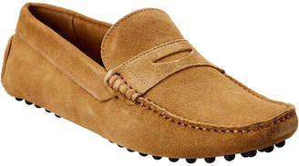 Rush by Gordon Rush Suede Penny Loafer