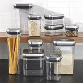 Crate & Barrel OXO ® Steel Pop Containers, Set of 10