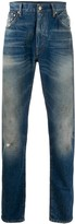 Alanui Mid-Rise Straight Jeans