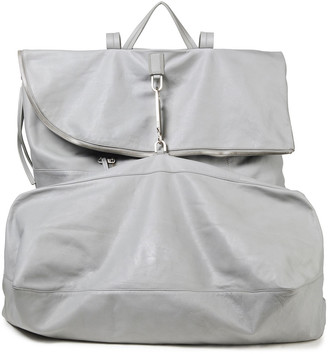 Rick Owens Pebbled-leather Backpack