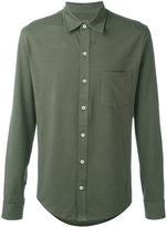 Closed patch pocket shirt - men - Cotton/Spandex/Elastane - L
