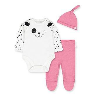 Mothercare Baby IO G Spotty Novelty 3PC Set Bodysuit,Tiny (Size:50)