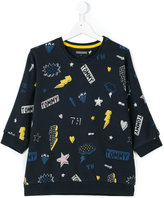 Tommy Hilfiger Junior printed knitted top