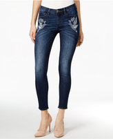 Buffalo David Bitton Faith Embroidered Capsica Wash Skinny Jeans