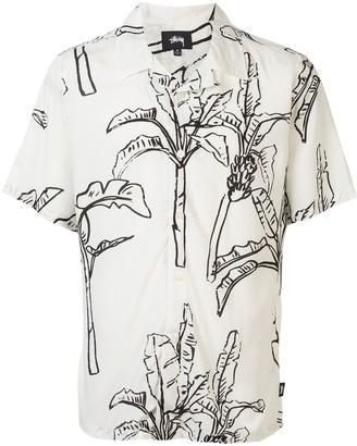Stussy Banana Tree Print Shirt
