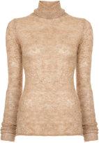 ESTNATION roll neck knitted top