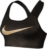 Nike Pro Gold Classic Medium-Support Compression Sports Bra