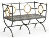Chelsea House Circle Metal Bench