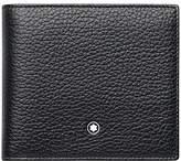 Montblanc Meisterstück Soft Grain Leather 4 Card Wallet, Black