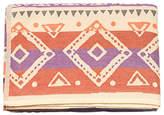 Desigual Tribal Stripes Throw Blanket