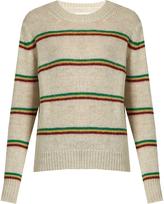 Etoile Isabel Marant Goya striped alpaca-blend sweater