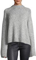 AG Jeans Noelle Mock-Neck Wool-Blend Sweater