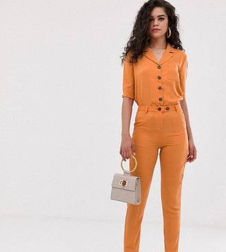 Fashion Union Tall high waist tailored pants co-ord