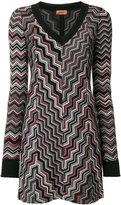 Missoni geometric knitted dress
