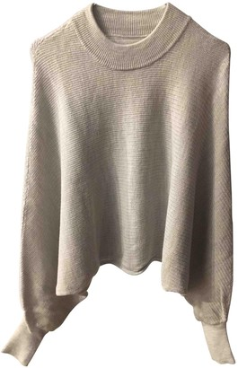 AllSaints Grey Wool Knitwear for Women
