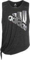 adidas Tie Tank Top (For Big Girls)