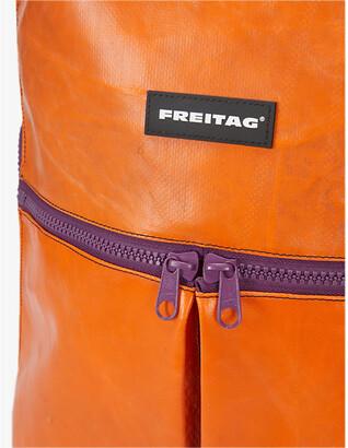 Freitag F49 FRINGE upcycled-tarpaulin backpack