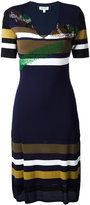 Kenzo striped dress - women - Polyamide/Viscose - XS