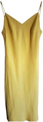 Akris Punto Yellow Cotton Dress for Women