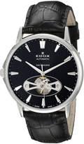 Edox Men's 85021 3 NIN Les Bemonts Analog Display Swiss Automatic Watch