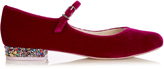 Sophia Webster Renee velvet flats