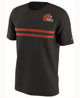 Nike Men's Cleveland Browns Color Rush Stripe T-Shirt