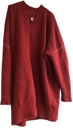 Maison Margiela Red Wool Knitwear for Women