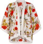 Yumi 70s Floral Print Kimono