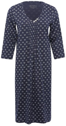 M&Co Heart print nightdress