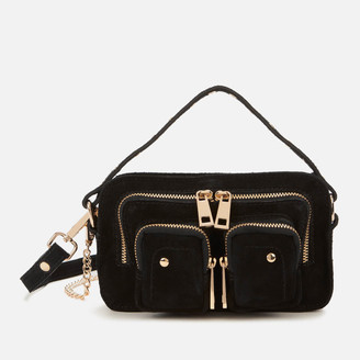 Nunoo Women's Helena Suede Cross Body Bag - Gold