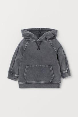 H&M Denim-look hoodie